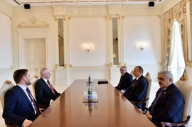 President Aliyev Deliberates Cooperation Perspectives with BP's Dudley
