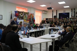 Azerbaijani and U.S. Models of Multiculturalism Discussed in Baku