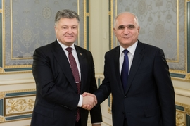 Economic Development Minister Leads Delegation to Ukraine, Meets with President Poroshenko