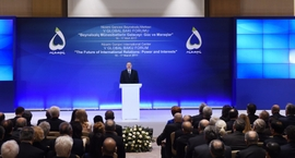 Azerbaijan's Aliyev Opens the 5th Global Baku Forum