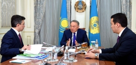 Kazakhstan's Nazarbayev Pushes For Further Economic Development