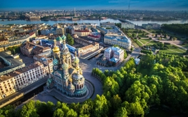 "St. Petersburg Wins ""Europe's Leading City Destination"" 3rd Year In A Row"