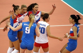 Serbia Wins 2017 Women's European Volleyball Championship, Azerbaijan Places 4th