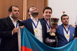 Azerbaijanis, Russians Win European Chess Championship