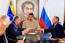 Russian Oil Giant Granted License To Develop Venezuela's Offshore Gas Deposits