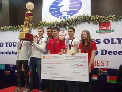 Russia, Iran Claim Top Spots At World Youth U16 Chess Tournament