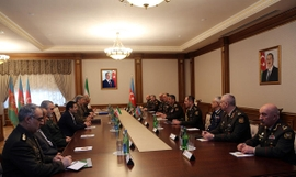 Iranian Defense Minister Visits Baku, Reassures Its Support For Azerbaijan's Territorial Integrity