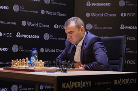 Caspian Chess Master Top FIDE Charts In Berlin
