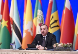 Aliyev Says South Caucasus Unstable Until Karabakh Conflict Is Resolved