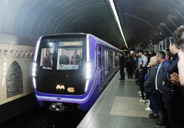 Ultra-Modern Trains Come On Track In Baku Metro