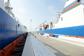Caspian Seaport Recognized As Strategic Part To Global Projects
