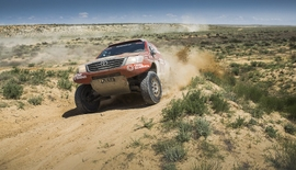Kazakhstan Hosts International Off-Road Racing Competitions