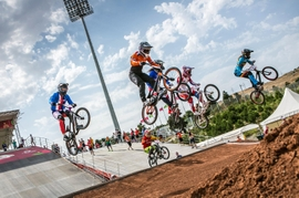 UCI BMX World Championship Kicks Off In Baku
