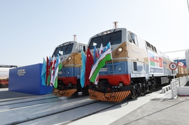 Caspian Region Reaps More Benefit from Baku-Tbilisi-Kars Railway