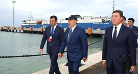 Kazakhstan's New Ferry Terminal Expected To Boost Eurasian Trade