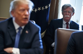 U.S. National Security Adviser John Bolton On Tour Of Caspian Region