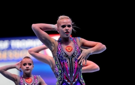 Caspian Teams Score Big At FIG Acrobatic Gymnastics World Cup