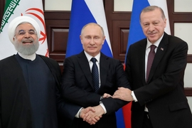 Iran, Russia & Turkey Support U.S. Withdrawal From Syria