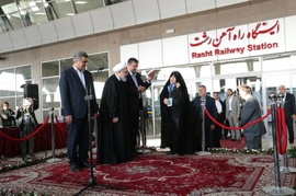 Iran-Azerbaijan Joint Railway Opens After Much Anticipation