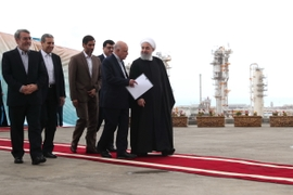 New Gas Projects Get Launched In Iran, Despite U.S. Pressure For Foreign Companies To Steer Clear