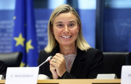 Mogherini Hints At Imminent Finalization Of New EU-Azerbaijan Partnership Agreement