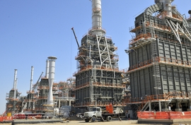 Giant Gas Plant Ready To Open In Turkmenistan