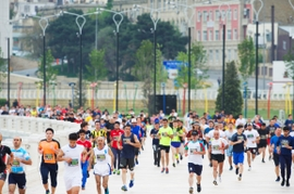Runners Get Ready For Baku Marathon