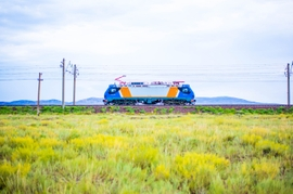 Kazakhstan Modernizes Its Railway Fleet Thanks To French Locomotives