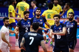 Iran Accuses U.S. Of Mistreating Its Volleyball Team