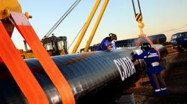 Gazprom's Power Of Siberia Pipeline Inches Closer To China