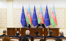 Azerbaijan & EU Reviewed 1 Year Of Commitments, As SGC Remains Center-Stage