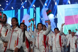 2019 European Youth Olympics Festival Opens In Baku
