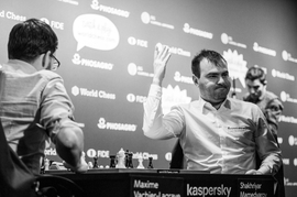 Azerbaijani Mega-Brain Wins Second Leg Of FIDE Grand Prix Chess Tournament