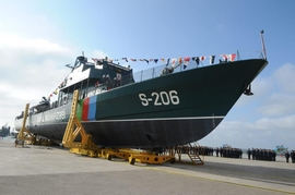 Azerbaijan's State Border Service Celebrates 100 Years, Demonstrates Cutting-Edge Patrol Vessel