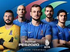 Konami Puts Azerbaijan's National Football Team Into PES 2020