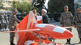 Iran Says Homegrown Drone Is Capable Of Hitting Targets Beyond Borders