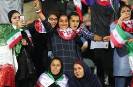 "Iran Says Presence Of Women In Sports Events ""Not Advisable"""