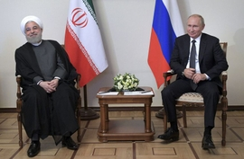 Rouhani & Putin Meet To Try & Save JCPOA