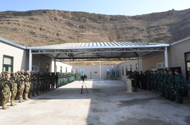Azerbaijan Launches New Border Post In Keshikchidag Temple Complex