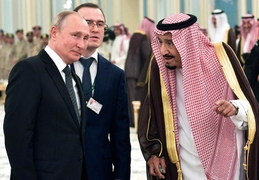 Putin Hopes To Stop Oil Price Slide With A Visit To Saudi Arabia