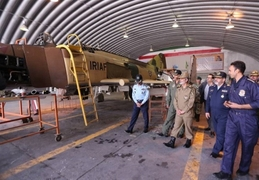 Iranian Air Force Unveils Several Upgraded Military Hardware