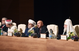 Global Security Converges With Religion At Baku Forum