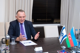 Israeli Ambassador Voices Support For Azerbaijan's Territorial Integrity