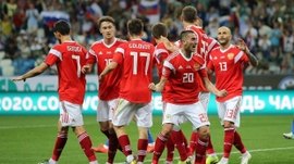 Russia Qualifies for Euro 2020 Group Stages as Only Team from Caspian