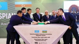 Azerbaijan, Kazakhstan Launch Fiber-Optic Cable Construction Along Caspian Sea