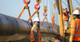 TAP Gas Pipeline Construction Readies For Test Run