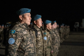 Kazakh Troops Arrive In Lebanon For UN Peacekeeping Mission