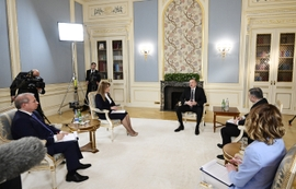 "President Aliyev Calls 2019 ""A Lost Year"" For Nagorno-Karabakh Negotiations"