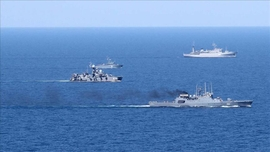 China, Russia, Iran Start Joint Naval Drills In Indian Ocean