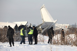 Passenger Jet Crashes In Kazakhstan, Killing At Least 15